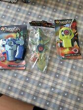 Thundercats toys. Sword of Omens. Lizard Lazer. Wrist Blaster. WB New old stock?