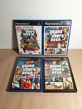Sony PS2 Grand Theft Auto Games Bundle All Complete w/ Maps & Instructions RARE