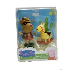 Peppa Pig Cowboy Pedro's Western Adventures Mini Figure Age 2 And Up