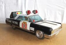 Rare ICHIKO made in japan - BUICK WILDCAT highway patrol police car 39cm - 60's