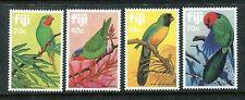 Fiji 481-484 MNH Birds 1983: Red-throated Lory; Blue-crowned lory; Sulphu x16508