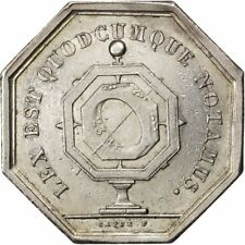 [#72426] France, Notary, Token, 1835, AU(50-53), Silver, Lerouge #109, 11.88