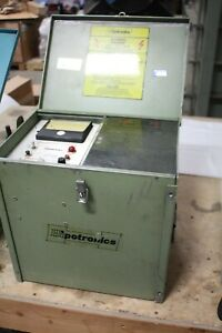 HIPOTRONICS OC60A PORTABLE OIL TESTER WORKING