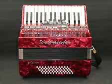 Weltmeister Meteor Akkordeon, 60 Bass, 5 Register mit Koffer und Trageriemen