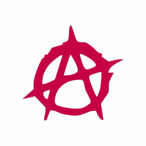 Anarchy Symbol - Vinyl Decal Sticker - Multiple Color & Sizes - ebn783