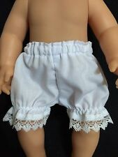 Dolls clothes. Pants/nickers made to fit 32cm Baby Born (Small) Dolls