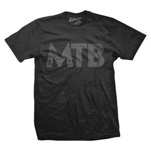 Dh Designs MTB Clothing T-shirt Dhd Mtb Lg Blk