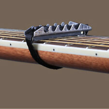 Black Quick Change Flat Change Clamp Key Capo 4 Electric Acoustic Guitar XL