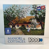 Feeding the Geese-Manors and Cottages Series by Sure-Lox 1000 pc Jigsaw Puzzle