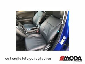 Coverking Moda Leatherette Custom Tailored Front Seat Covers for Ford Edge