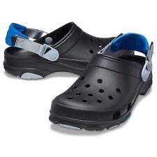 Crocs Classic All Terrain Clog Roomy Fit Unisex Sandale Hausschuh 206340 Schwarz