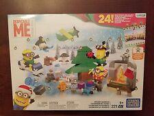 Despicable Me MINIONS Advent Calendar w/ 221 MEGA BLOKS Pieces Build & Collect