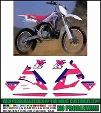 kit adesivi stickers compatibili YZ 250 1992