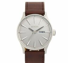 BRAND NEW The Sentry Leather Strap Watch, 42mm