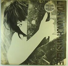 """2x 12"""" LP - Lydia Lunch - Hysterie - A3965 - washed & cleaned"""