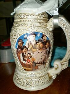 "1998 ANHEUSER BUSCH COLLECTOR'S CLUB MEMBERSHIP STEIN CB7 ""OLD WORLD HERITAGE"