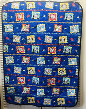"Vtg Disney 101 Dalmatians Bed Comforter For A Baby Crib.Size 42X56 """