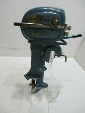 EVINRUDE OUTBOARD MOTOR BATTERY OP TESTED N MINT CONDITION TESTED WORKS GREAT