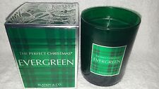Slatkin CO Body Works The Perfect Christmas EVERGREEN Scented Candle 9.5 oz New