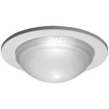 "NEW HALO 5054PS  5"" White Trim with Frosted Dome Diffuser LED Shower Light"