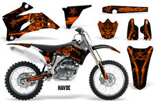 Yamaha YZF250 YZF450 Graphics Kit MX Wrap Dirt Bike Decal Stickers 06-09 HAVOC O