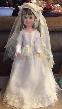 """21"""" Tall Hard Plastic Bride Doll"""