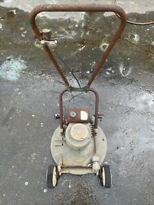 Vintage Victa 18 Lawn Mower 2 Stroke Toe Cutter Lawnmower (for Parts or Resto)