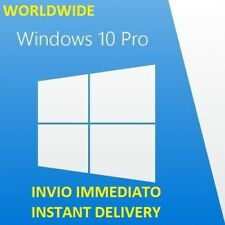 WINDOWS 10 PRO PROFESSIONAL 32/64 BIT LICENZA ORIGINALE RETAIL KEY ESD