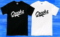 Crooks and Castles Band Logo Men's T-Shirt Size S to 2XL