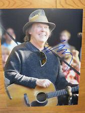 Neil Young signed photo 11x14 coa + Proof! CSNY Buffalo Springfield autographed