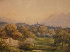 Frédéric François D'ANDIRAN (1802-1876)né à Nantes  Lausanne Paysage de montagne