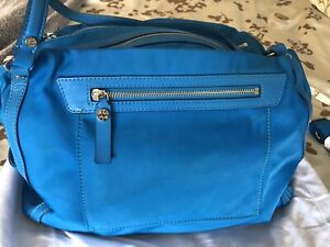 MZ Wallace Large Bright Blue Shoulder Bag