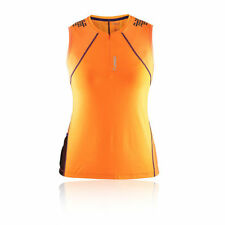 Abbigliamento sportivo da donna arancione senza maniche
