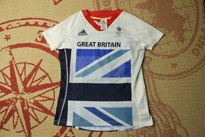 GREAT BRITAIN TEAM GB OLYMPIC GAME 2012 women SHIRT JERSEY ADIDAS ORIGINAL
