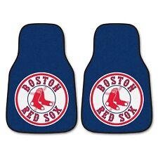 Boston Red Sox 2-Piece Carpet Car Auto Floor Mats