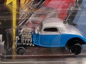 1934 FORD COUPE CAR blue Hot Rod JOHNNY LIGHTNING 1:64 DIE CAST 1 of 3500