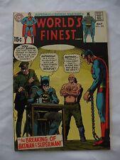 Batman & Superman breaking of Batman & Superman #193 May 1970 World's Finish DC
