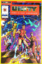 Unity #0 Red Variant - VF+ - Valiant Comics