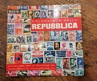 RACCOGLITORE STORICO MARINI COLORALBUM DELLA REPUBBLICA ITALIANA - RARITA'