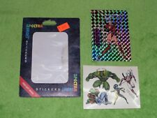 Vintage Jim Lee's WildC.A.T.S. Wildcats - Spectra Bright Stickers & Tattoo's