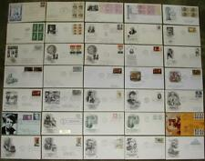 Lot of (35) First Day Issues. Assorted New York Postmarks. 1945 - 1997