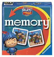 Ravensburger Memory Mike the Knight caballero caballero juego juego de niños hijos de juego