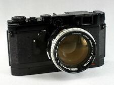 Canon Model VT deLuxe, #555940, Canon Lens 1.2/50mm, #47763