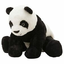"IKEA Panda Bear 12"" Stuffed Animal Kid Soft Toy White Black KRAMIG NEW GIFT"