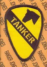 "US Army 1st Cavalry Division TANKER Armor 5"" patch"
