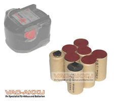 Akku für Würth BS96-A Solid SD96 Selbsteinbau 9,6V 2.0Ah NIMH / 0700980220