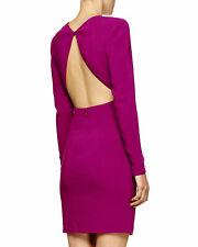 Stella McCartney Jewel Neck Open Back Stretch Dress Hyacinth IT38 AU/UK 6-8