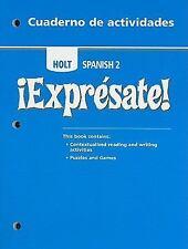 ¡Expresate!: Cuaderno de actividades Student Edition Level 2   NEW