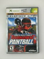 Greg Hastings' Tournament Paintball - Original Xbox Game - Complete & Tested