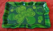75% de réduction promotion Amscan St Patricks Jour Plastique Aliments Buffet Plateau Party Fun était de 3.99